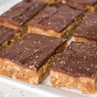 Peanut Butter Oatmeal Bars with Chocolate Frosting Recipe