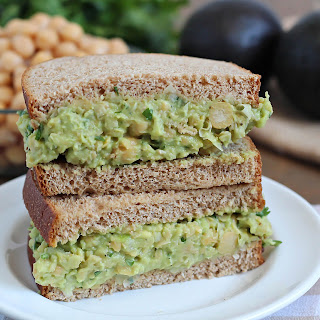 Avocado Chickpea Salad Sandwiches