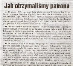 """Photo: Artykuł prasowy """"Biuletyn Samorządowy""""."""
