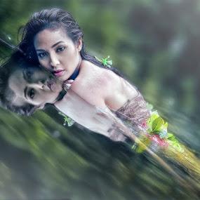 Submerged by Maybelle Blossom Dumlao-Sevillena - People Portraits of Women ( maybelledumlaosevillena, portraits, nikon, passion, photography )