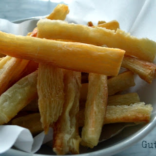 Easy Yuca Oven Fries (AIP).