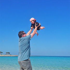 Fly High by Chris Beadnell - People Family ( tropical, daddy, ocean, island, beach )