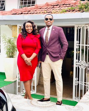 Somali guy raises eyebrows after showering Betty Kyallo with sweet words