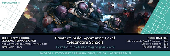 Painters' Guild: Apprentice Level (Secondary School)