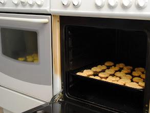 Photo: pierwsze ciasteczka gotowe!