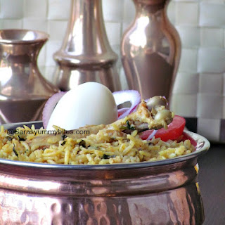Anjappar Style Chicken Briyani