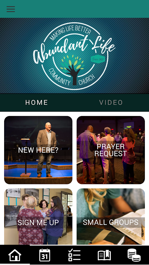 Abundant Life Community Church- screenshot