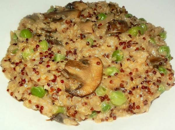Red & White Quinoa Risotto Recipe