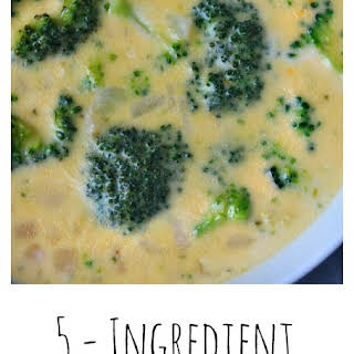 5 - Ingredient Broccoli Cheese Soup.