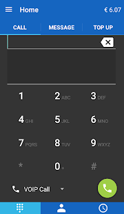 Jumblo - Mobile Sip calls- screenshot thumbnail