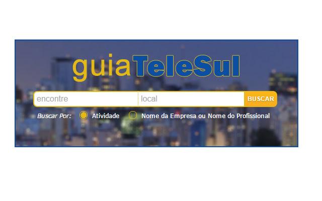 Busca do GuiaTeleSul