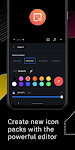 screenshot of Icon Pack Studio - Make your own icon pack
