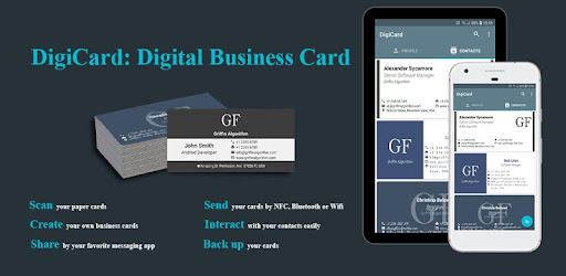 Digicard Digital Business Card Apps On Google Play