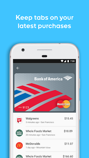 Screenshot 5 for Google Wallet's Android app'