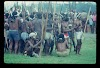Papua. Tribes Baliem Valley Time Travel. Men gathering