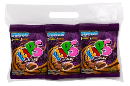 cereal flips chocolate 28gr 6und