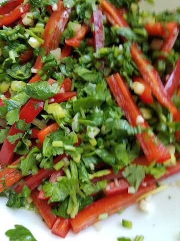 Red and Green Salsa