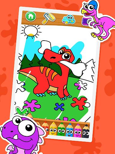 Coloring dinosaurs 1.2.9 screenshots 1