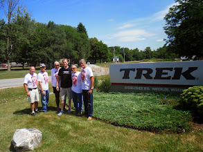 Photo: Team photo out front with Todd our tour guide