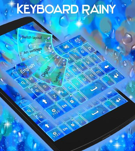 玩免費個人化APP|下載雨天主題鍵盤 app不用錢|硬是要APP