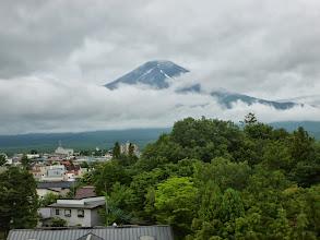 Photo: Mt. Fuji from the hotel at Kawaguchiko