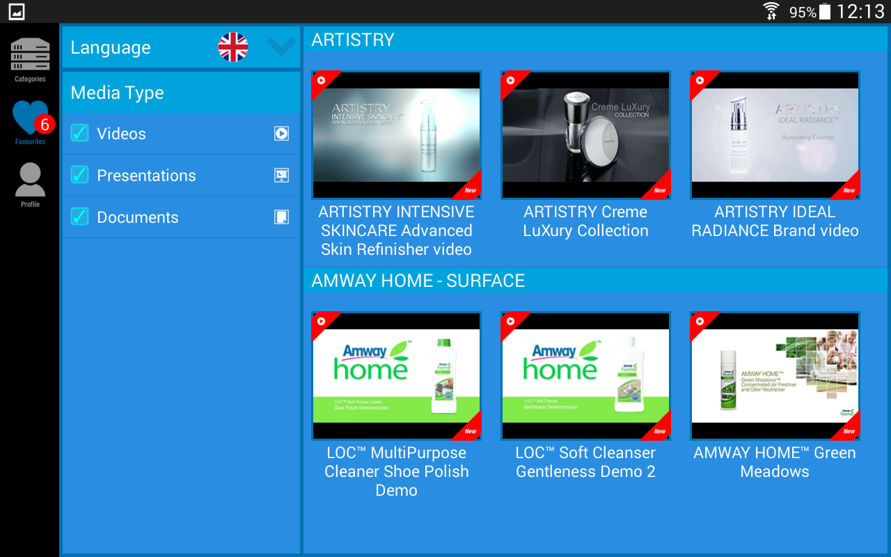MP Amway UK & Ireland- screenshot