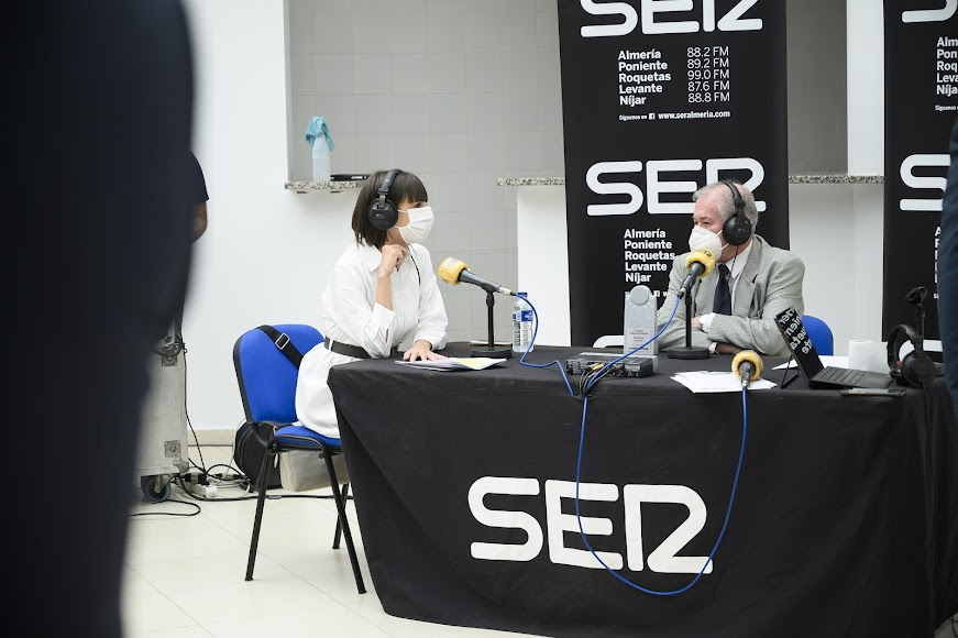 La SER realizó un programa especial en Níjar.