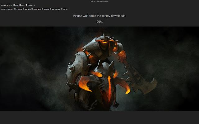 dota 2 replay viewer chrome web store