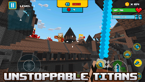 Titan Attack on Block Kingdom - náhled