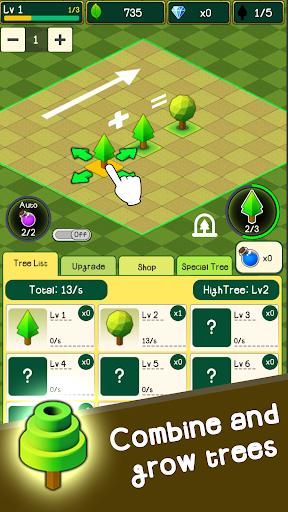 Combine Tree in forest : TreeClicker 9.6 screenshots 5