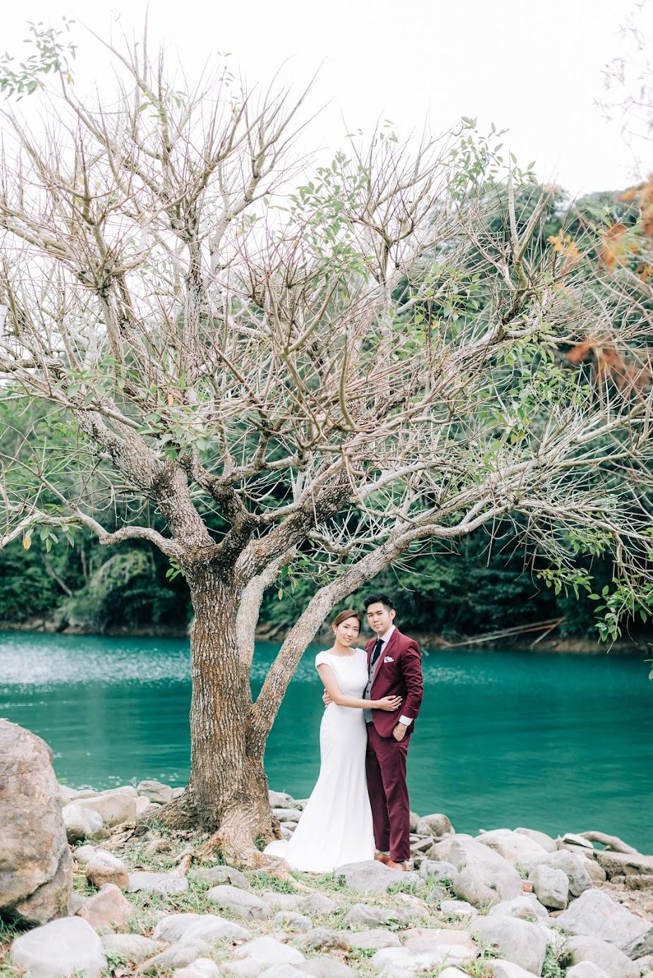 香港新人來日月潭影婚紗,都找Amazing Grace攝影美學