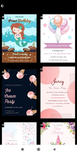 Invitation maker 2020 Birthday & Wedding card Free screenshot 7