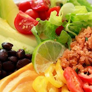 Mexican Rice Rainbow Bowls