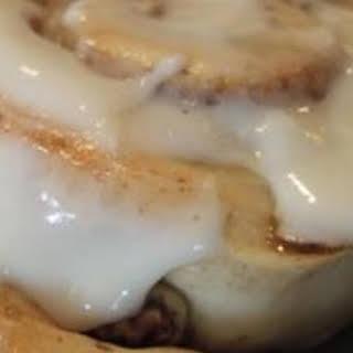 Cake Mix Cinnamon Rolls.