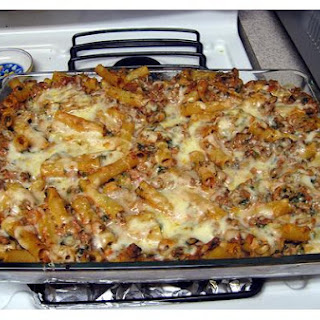 Baked Ziti With Mozzarella