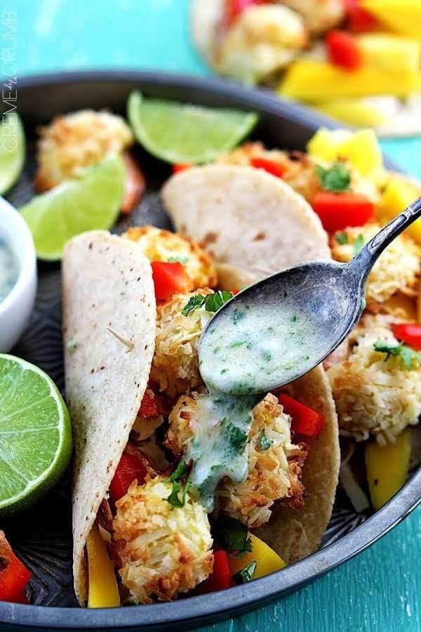 Best Crispy Shrimp Tacos! Recipe
