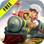 3D Train Game For Kids