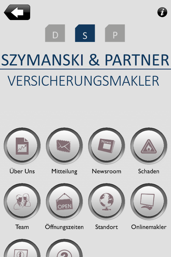 Szymanski & Partner- screenshot