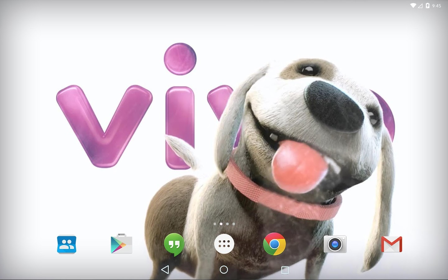 dog licking live wallpaper for android