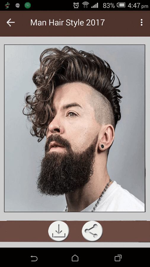 How To Choose A Good Hairstyle For Guys : Men hairstyle set my face 2017 android apps on google play