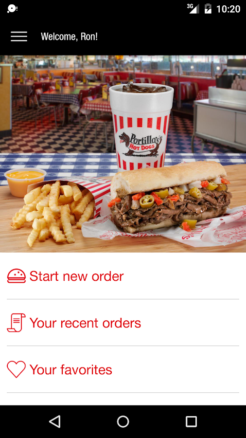 Portillo's- screenshot