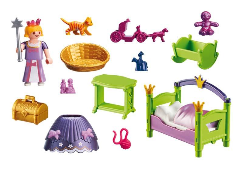 Contenido Real de Playmobil® 6852 Dormitorio de Niños