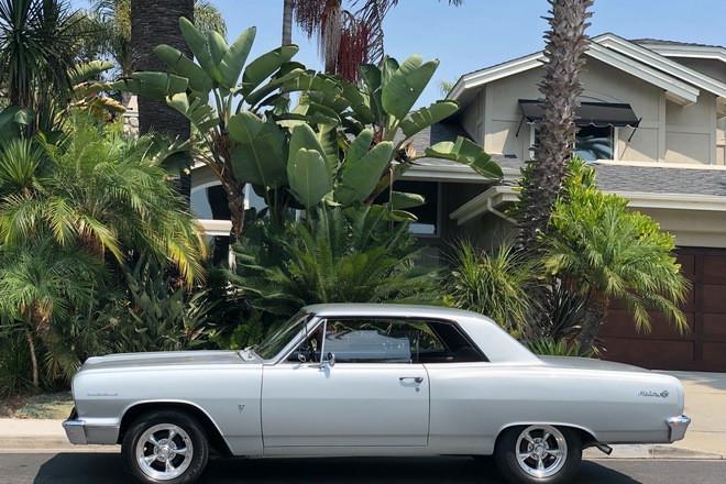 1964 Chevy Malibu SS Silver Hire CA