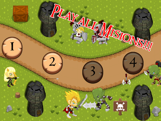 Strategy Game of Orcs Thrones
