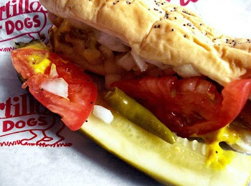 Chicago Style Hotdog  ..the Famous One & Only Recipe
