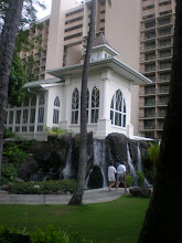 Photo: another view of the wedding chapel at the hotel