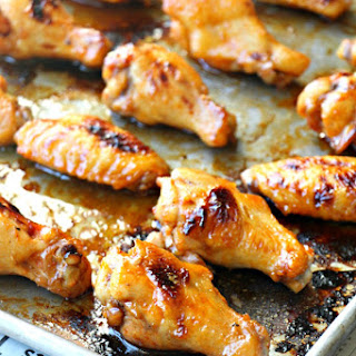 Giada De Laurentiis' Sticky Baked Korean Wings (GF, Paleo, Oil-Free, Refined Sugar Free).