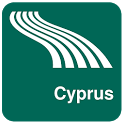 Cyprus Map offline icon