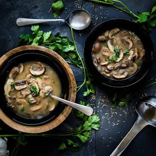 Portobello Mushroom Soup Recipes.