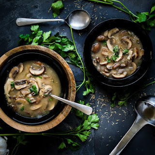 Portobello Mushroom Soup Recipes.